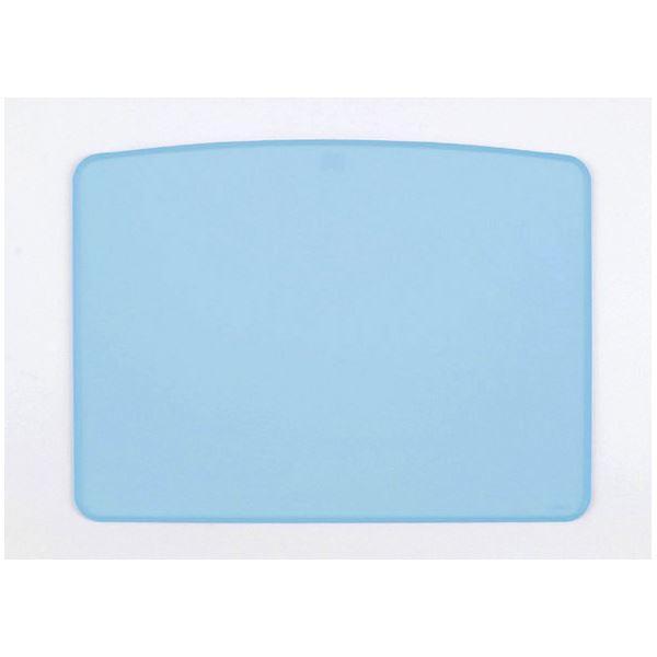 世界の ブルー ノンスリップマット 食事用具 (まとめ)台和 HS-N19〔×5セット〕-介護用品