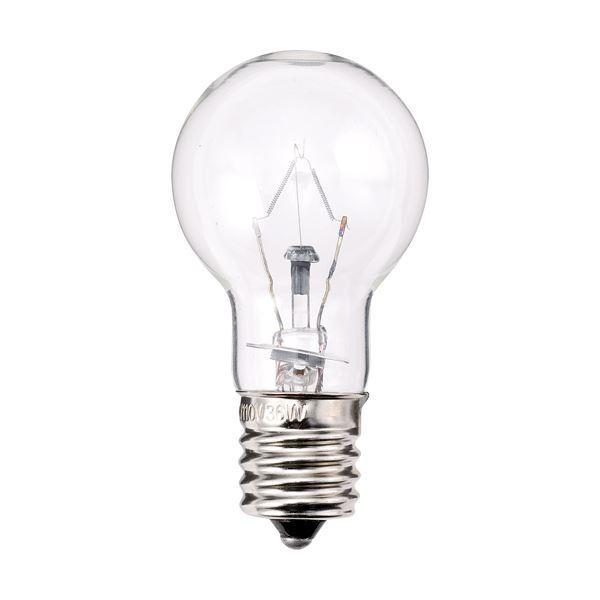 (まとめ) TANOSEE ミニクリプトン電球 40W形 E17口金 クリアタイプ 1パック(6個) 〔×3セット〕 〔×3セット〕