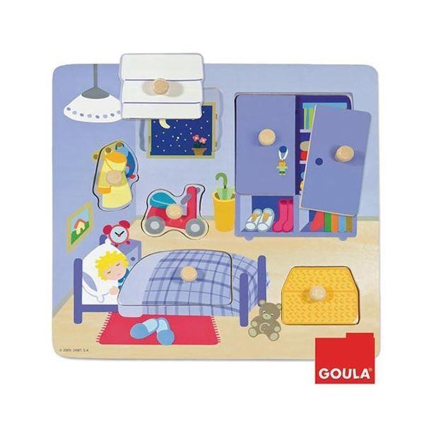DLM つまみつきパズル ベッドルーム 53034