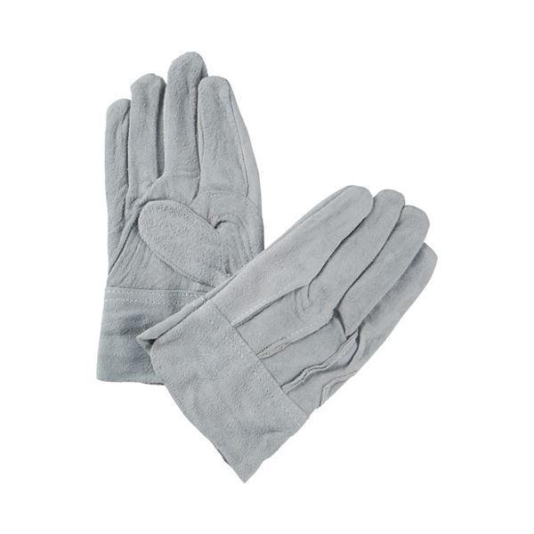 (まとめ)ミタニコーポレーション 牛床革手袋背縫い 1双〔×50セット〕
