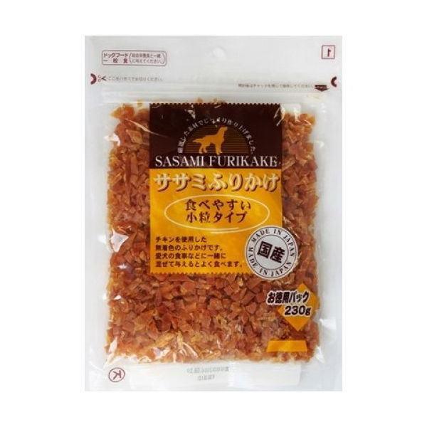 九州ペットフード ササミふりかけ 食べやすい小粒タイプ230g petyafuupro