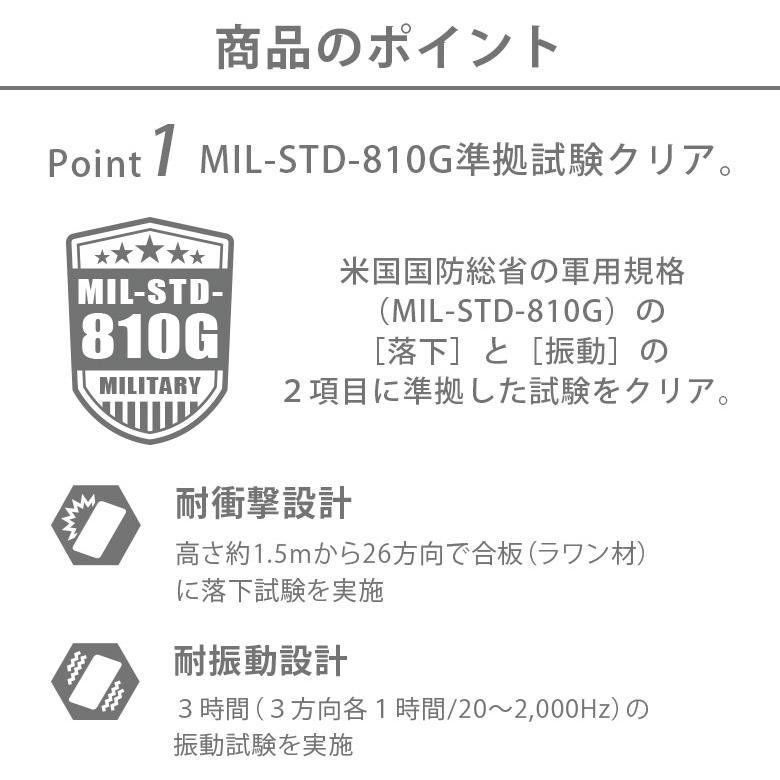 iPhone 12/12 Pro用 ガラスタフケース スクエアタイプ pg-a 02