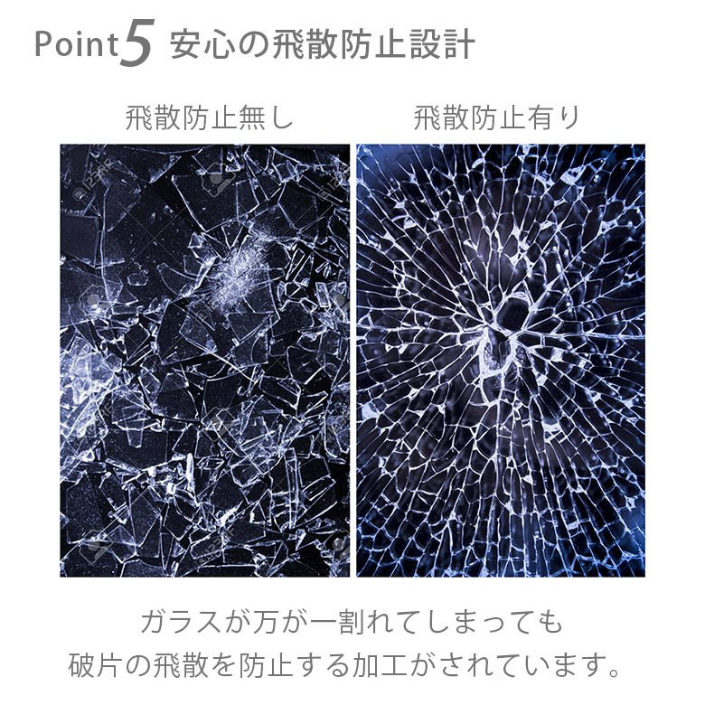 iPhone 12/12 Pro用 ガラスタフケース スクエアタイプ pg-a 06