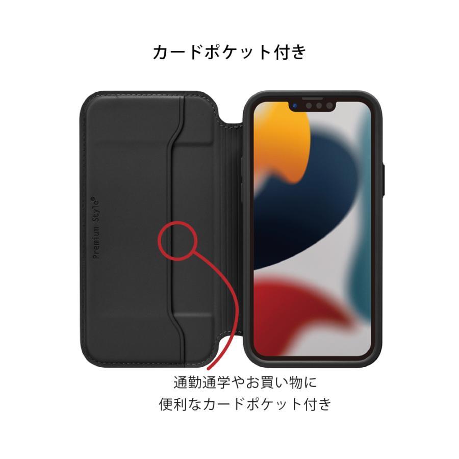 iPhone 13 Pro Max用 ガラスフリップケース pg-a 03