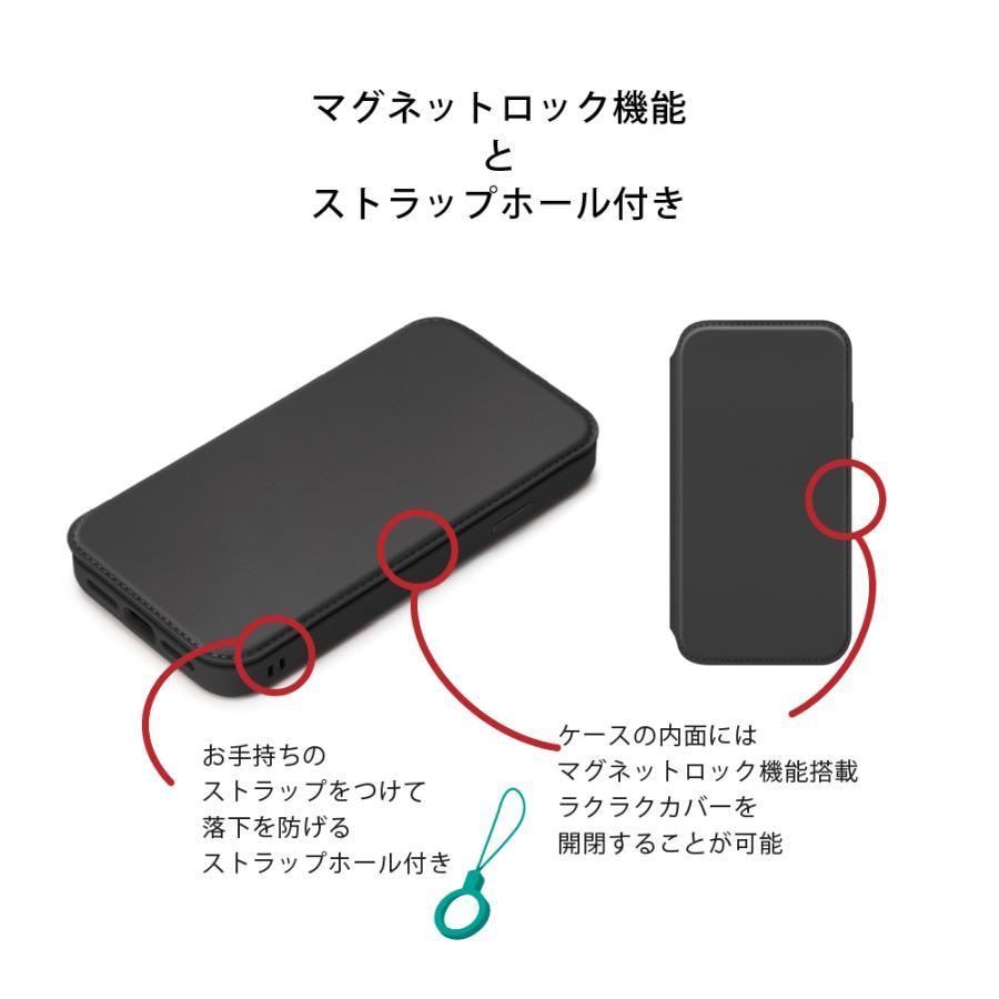 iPhone 13 Pro Max用 ガラスフリップケース pg-a 06