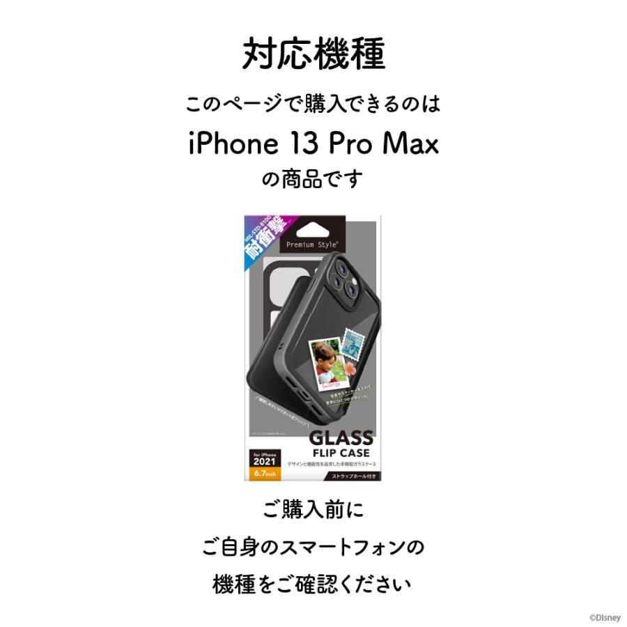 iPhone 13 Pro Max用 ガラスフリップケース pg-a 07