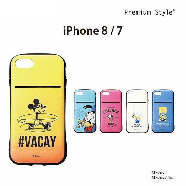 ディズニー iPhoneX / 8・7用 クリアケース