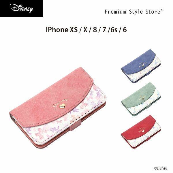 ディズニー iPhone X / iPhone8・iPhone7・iPhone6s・iPhone6 Disney ダブルフリップカバー