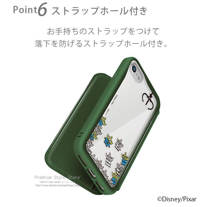 iPhone 12 スマホケース 手帳型 Disney 12 Pro 12mini SE(第2世代) 8 7 6s 6用|pg-a|08