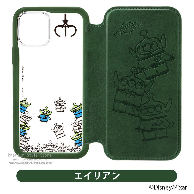 iPhone 12 スマホケース 手帳型 Disney 12 Pro 12mini SE(第2世代) 8 7 6s 6用|pg-a|10