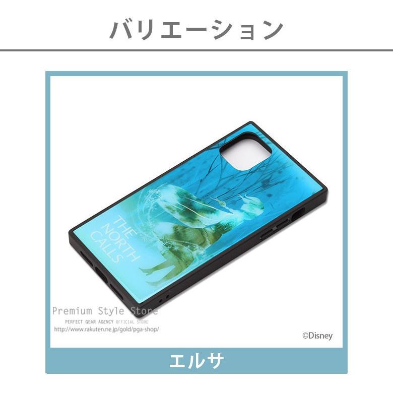 iPhone 11 Pro Max用 アナと雪の女王 ガラスハイブリッドケース|pg-a|03
