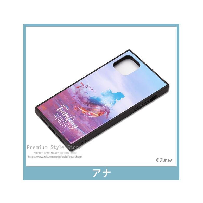 iPhone 11 Pro Max用 アナと雪の女王 ガラスハイブリッドケース|pg-a|04