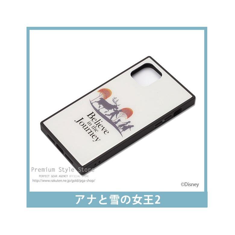 iPhone 11 Pro Max用 アナと雪の女王 ガラスハイブリッドケース|pg-a|05