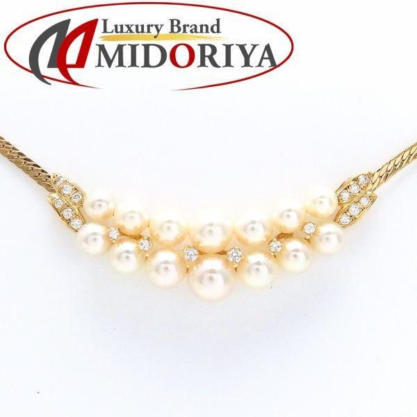 日本最大の ミキモト MIKIMOTO パール ネックレス ダイヤモンド 真珠 /099198 【】, 岩崎村 a7a13a81