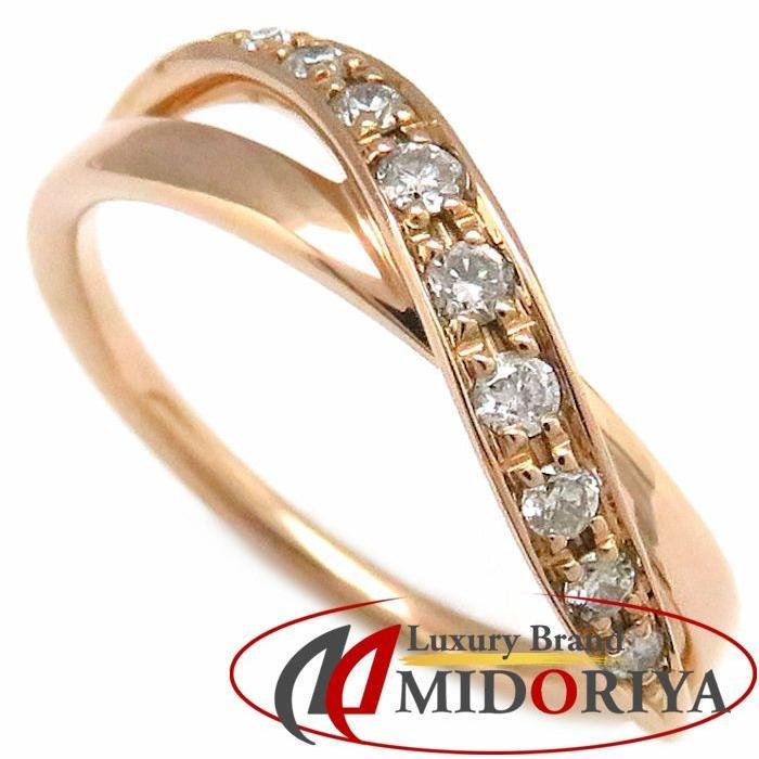 高価値セリー 4℃ リング ダイヤモンド9P K18PG 8号 ピンクゴールド ヨンドシィ 指輪/099481【】, 川島町 a4fa0a75