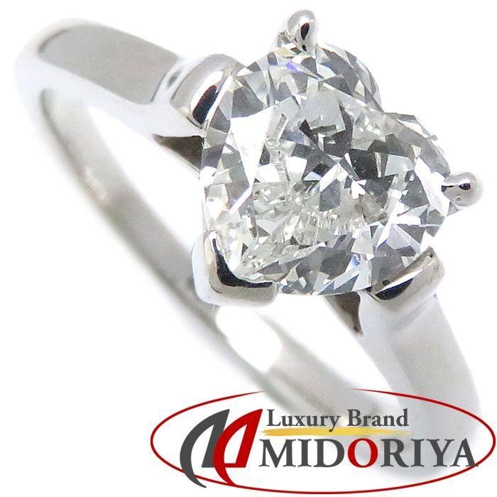 新発売の ティファニー Tiffany & Co. ダイヤモンドリング ハートシェイプダイヤモンド1.00ct Pt950 10号 プラチナ 指輪/099776【】, bonico (ボニコ) 9c6e369d