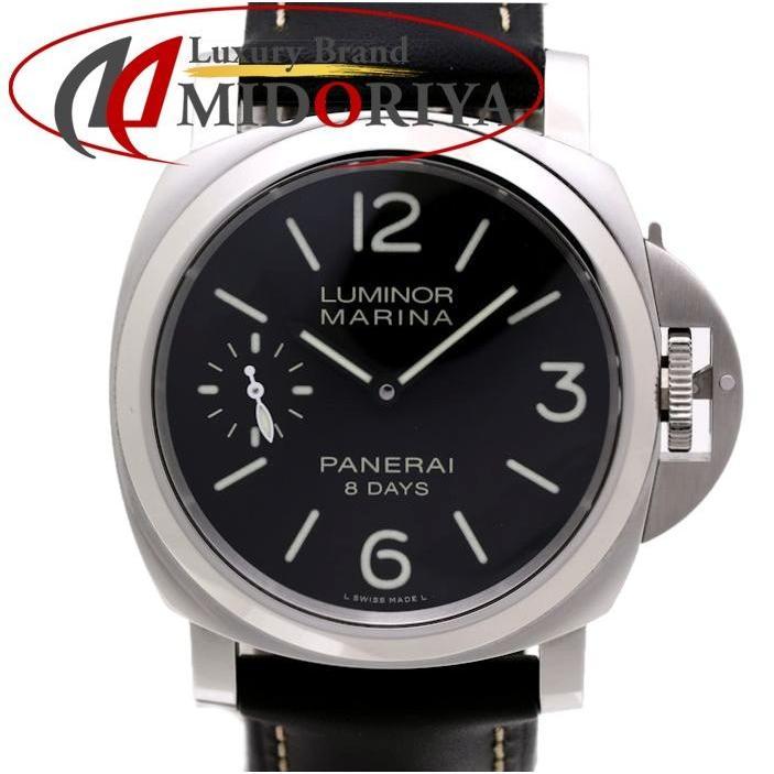 【絶品】 パネライ PANERAI PANERAI ルミノール 腕時計 マリーナ 8デイズ PAM00510 PAM00510 メンズ 手巻き T番/35461【】 腕時計, 制服マート:5ce3f023 --- airmodconsu.dominiotemporario.com