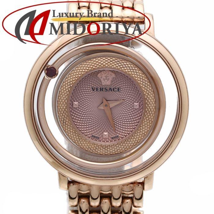 最安値級価格 ヴェルサーチ VERSACE レディース ヴィーナス ラウンド ローズゴールド VFH05 0013 /35817【】 腕時計, タバヤマムラ c7108323