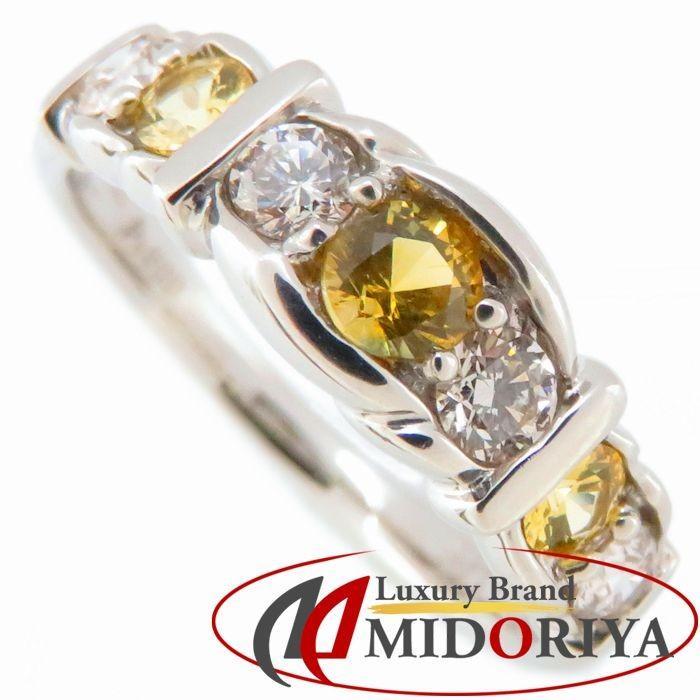 【当店一番人気】 リング Pt900 指輪 イエローサファイヤ0.39ct ダイヤモンド0.34ct【】 12号 プラチナ 指輪 レディース Pt900 ジュエリー/63583【】, レンタル衣装 ふるーれ:56bd67ae --- airmodconsu.dominiotemporario.com