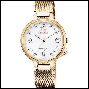 新作商品 シチズン エコ・ドライブ Bluetooth ーラー 時計 レディース 腕時計 EE4035-81A, ミハラチョウ 396acd5b