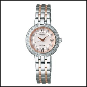 【高い素材】 セイコー エクセリーヌ エクセリーヌ ソーラー 電波 電波 時計 時計 レディース 腕時計 SWCW085, FG-Style:2c5b178b --- airmodconsu.dominiotemporario.com