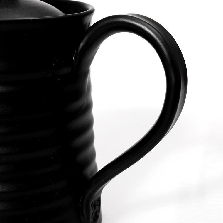 【8%OFFクーポン配布中※先着順】紫香陶房 マイカフェポット M ブラック SK-0107 PZN-077 phezzan 03