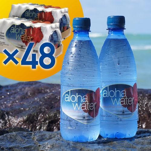 【先着順8%OFFクーポン配布中】aloha water アロハウォーター【2ケース/500ml×48本】不純物を一切含まない、安心安全のウルトラピュアウォーター!|phezzan