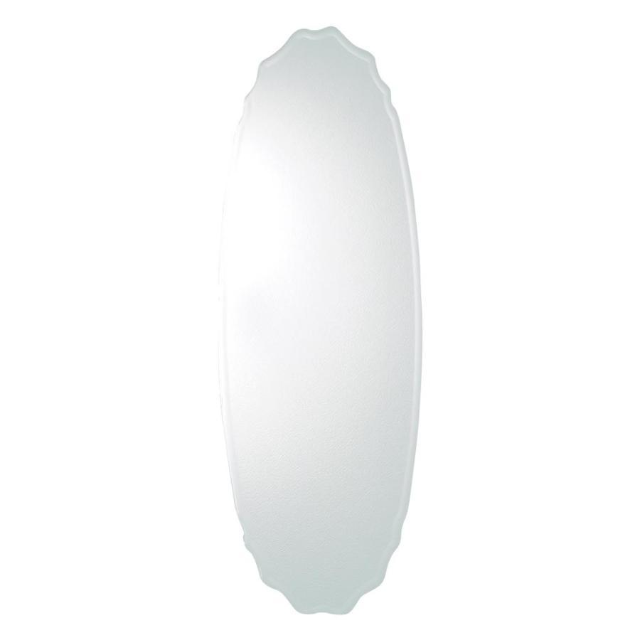 【日時指定可】塩川光明堂 Non frame mirror(ノンフレームミラー) ウォールミラー SUC-016