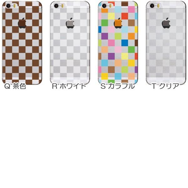 Android iPhone13 Pro Max XR Xperia 他 ケース かわいい スマホケース カバー メール便送料無料 半透明クリア ボックスチェック柄 M|phoca|06