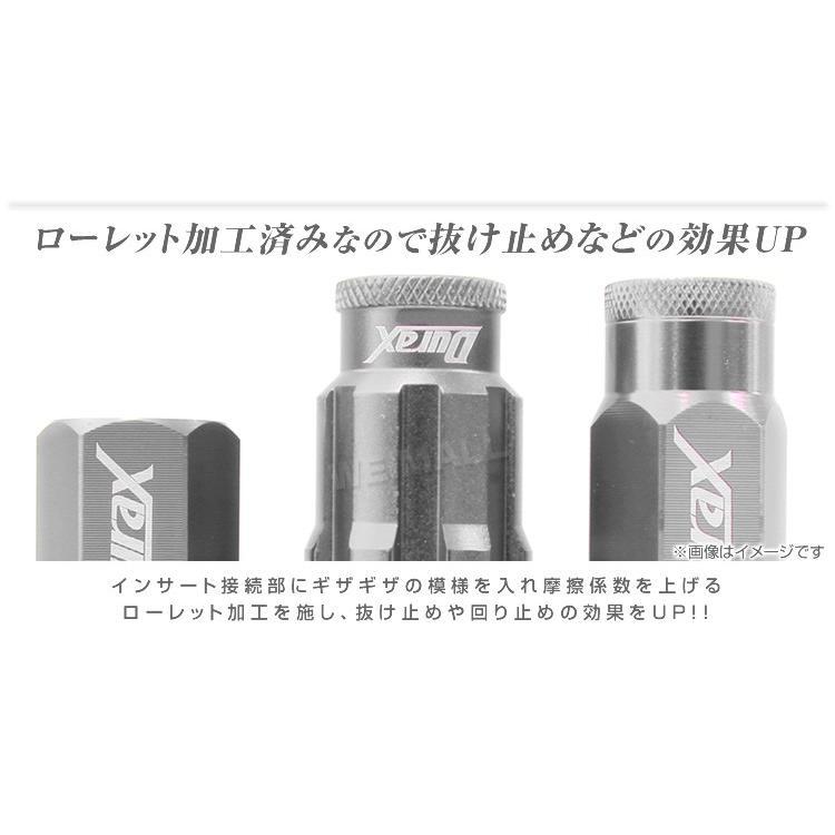 ホイールナット レーシングナット M12 P1.25 P1.5 ショート ロックナット 自動車 袋|pickupplazashop|02