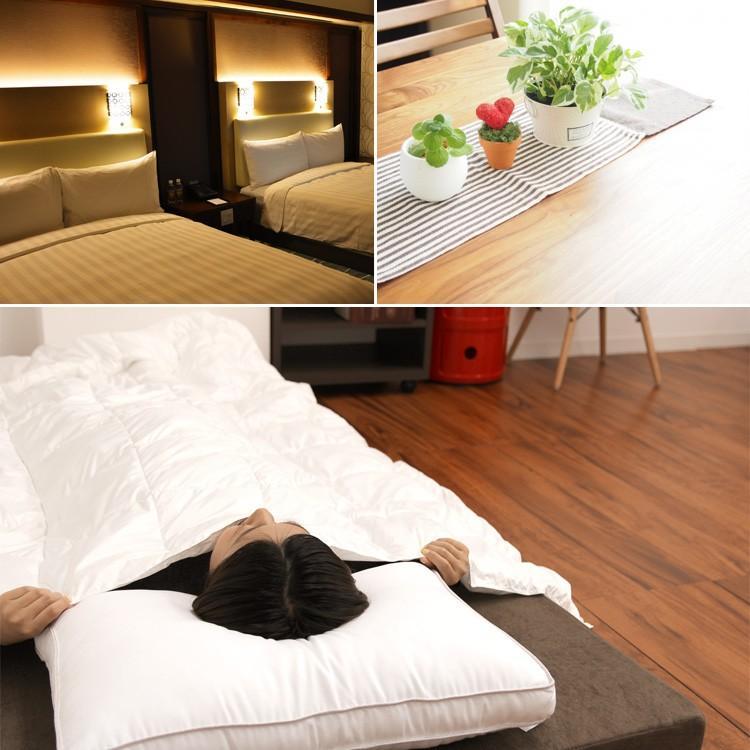 洗える枕 まくら 40×60cm ピロー ホテル仕様 ふかふか ゆったり 快眠 抗菌防臭 消臭 アレルギー対策|pickupplazashop|07