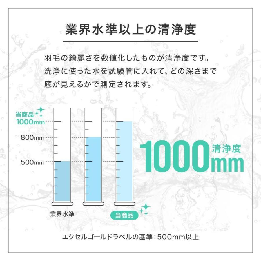 羽毛布団 シングル 日本製 ホワイトダックダウン 93% エクセルゴールドラベル GFマーク 抗菌 防臭 羽毛 掛け布団 布団 寝具|pickupplazashop|07