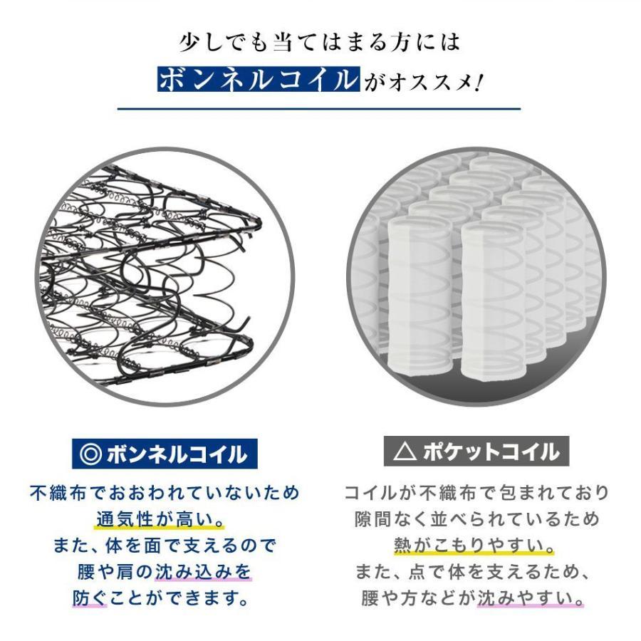 コイルマットレス 高密度ボンネルコイル シングル 厚さ16.5cm スプリングマットレス マットレス 硬め 通気性 ボンネルマット マット 圧縮 腰痛 肩こり|pickupplazashop|04