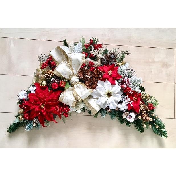 クリスマス リース 玄関