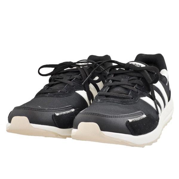 レディース 靴 スニーカー アディダス レトロランW レトロランニング コアブラック/クラウドホワイト/アルミナ(ブラック/ホワイト) EH1859|pieds