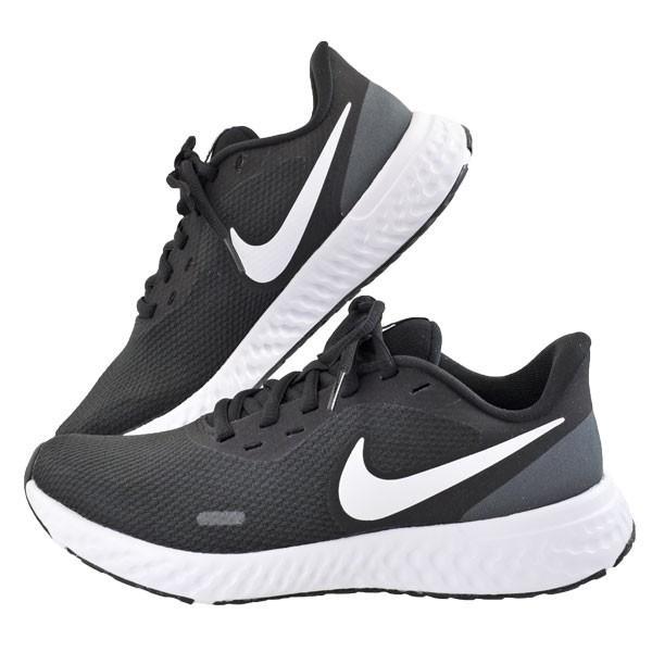 レディース 靴 スニーカー ウィメンズ ナイキ レボリューション5 ブラック/ホワイト/アンスラサイト(ブラック/ホワイト) NIKEBQ3207-002 pieds 03