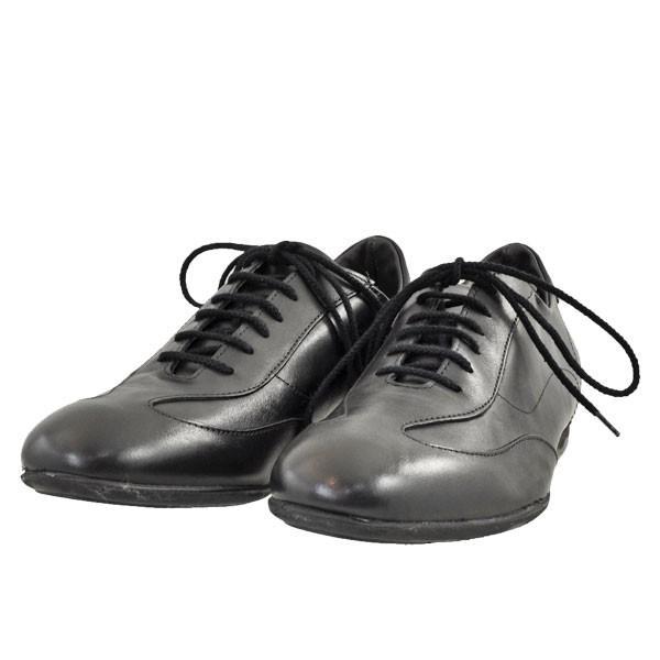 メンズ 靴 カジュアルシューズ プリマモーダ イタリア製 レザースニーカー ブラック PRIMA1421BLK|pieds