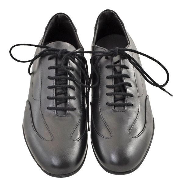 メンズ 靴 カジュアルシューズ プリマモーダ イタリア製 レザースニーカー ブラック PRIMA1421BLK|pieds|02
