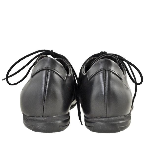 メンズ 靴 カジュアルシューズ プリマモーダ イタリア製 レザースニーカー ブラック PRIMA1421BLK|pieds|04