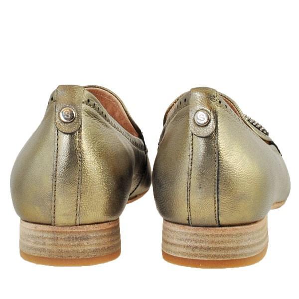 レディース 靴 パンプス マドラス ソフトウェーブス ラインストーン オニグリ 2cmヒール 革底 フラットシューズ 送料無料 ブロンズ SW73602BRZ|pieds|04