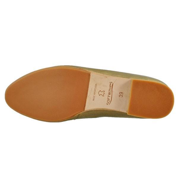 レディース 靴 パンプス マドラス ソフトウェーブス ラインストーン オニグリ 2cmヒール 革底 フラットシューズ 送料無料 ブロンズ SW73602BRZ|pieds|05