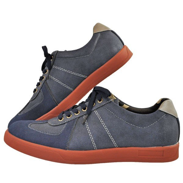 メンズ 靴 カジュアルシューズ UPレノマ 超軽量スニーカー ネイビー U1527NAV|pieds|03