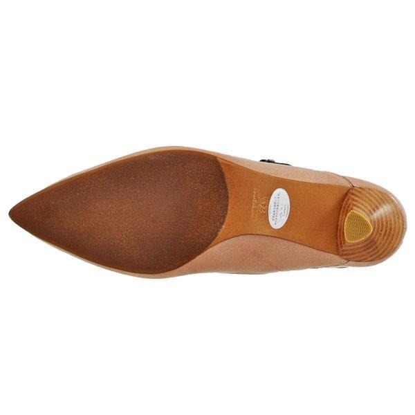 レディース 靴 パンプス ラボキゴシ ワークス ポインテッドトゥ バックストラップパンプス 送料無料 パールベージュエナメル works9133-12321PBGE pieds 05