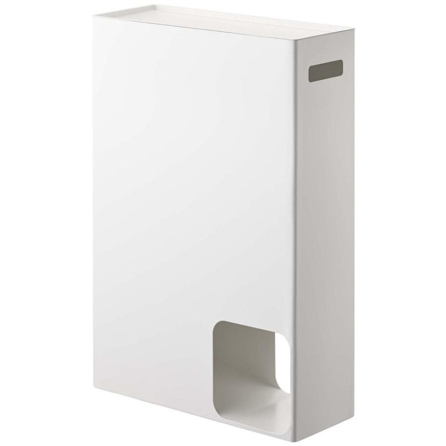 トイレットペーパーストッカー 収納 ホワイト 幅33cm|piena|02