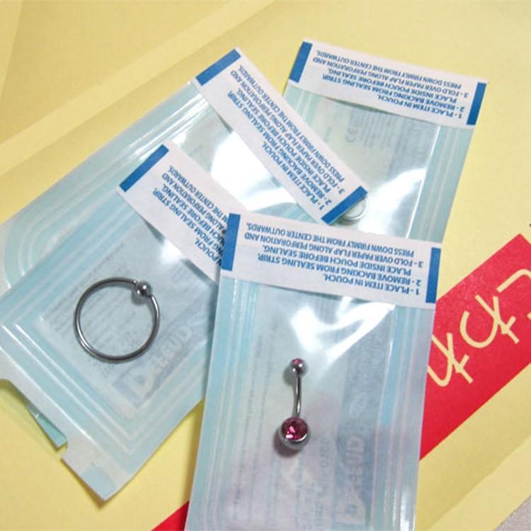 1注文で何商品でも100円 ボディピアス オートクレーブ滅菌パックサービス  ボディーピアス|piercing-nana|02