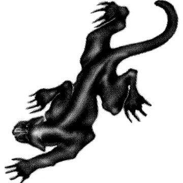 タトゥーシール 2枚セット ブラックパンサー ボディーシール piercing-nana 02