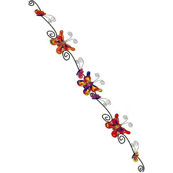 タトゥーシール 2枚セット レインボーバタフライ ボディーシール|piercing-nana|02