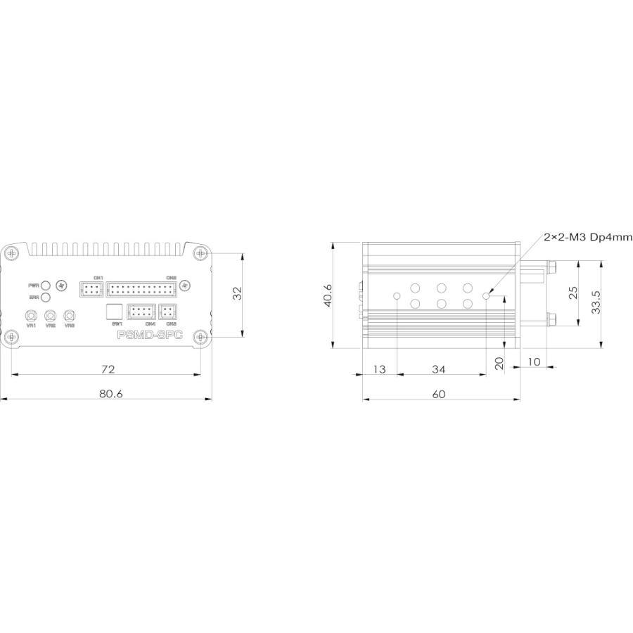 速度安定化機能付ドライバ PSMD-SPC|piezo-sonic|02
