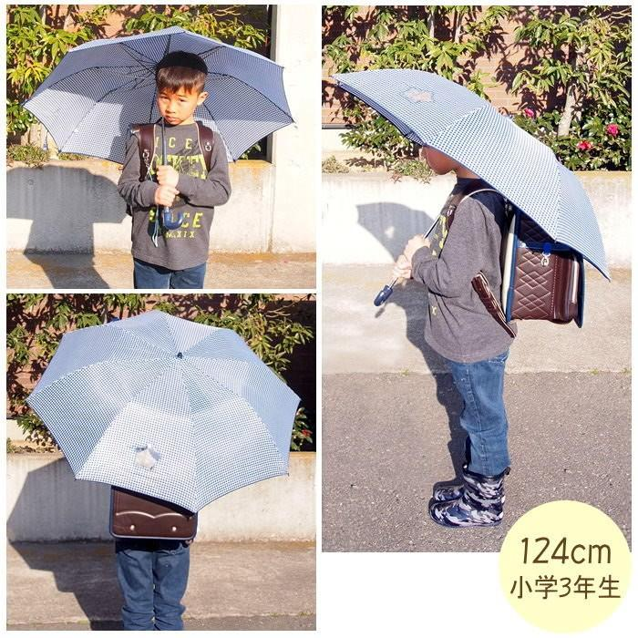 即出荷 折りたたみ傘 子供 使いやすい 丈夫 ランドセルサイズ 53cm 記念品 女子 男子 かわいい 軽量 持ちて 雨具 小学生 通学 2段 8本骨 簡単開閉|piglet|04