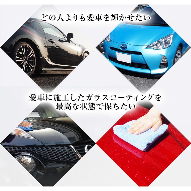 ガラスコーティング 車 ガラスコーティング剤 メンテナンス剤 ナノピカピカレイン 滑水性 スプレーして拭くだけ簡単コーティング! 送料無料 TOP-KMAINTE-250|pika2rain|04